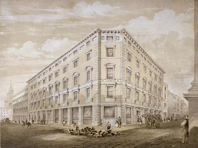 Gresham Street, City Of London, 1840By Martin U0026 Hood
