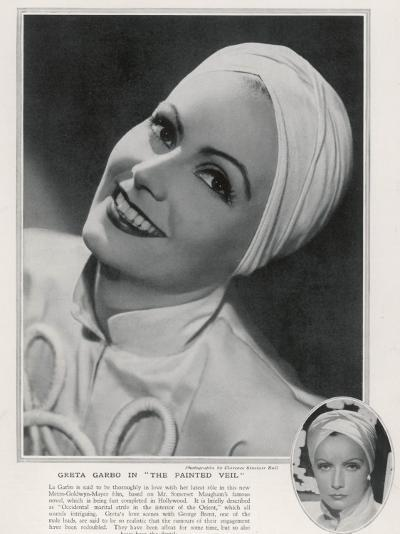 Greta Garbo (1905-1990)--Photographic Print