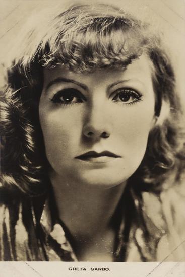 Greta Garbo, Swedish Actress and Film Star--Photographic Print