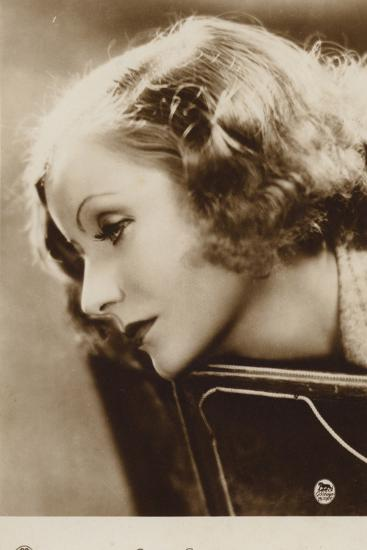 Greta Garbo--Photographic Print