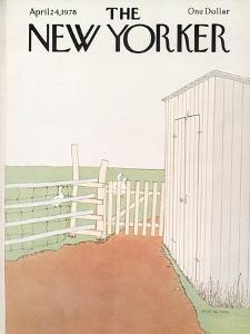 The New Yorker Cover - April 24, 1978 by Gretchen Dow Simpson