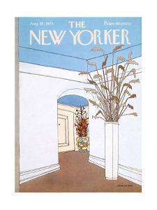 The New Yorker Cover - August 19, 1974 by Gretchen Dow Simpson