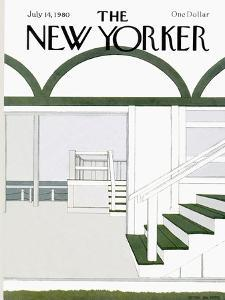 The New Yorker Cover - July 14, 1980 by Gretchen Dow Simpson