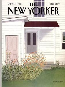 The New Yorker Cover - July 15, 1985 by Gretchen Dow Simpson