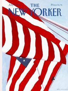 The New Yorker Cover - July 2, 1990 by Gretchen Dow Simpson