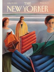 The New Yorker Cover - July 29, 1991 by Gretchen Dow Simpson