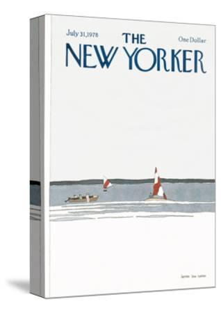 The New Yorker Cover - July 31, 1978