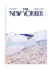 The New Yorker Cover - June 20, 1977 by Gretchen Dow Simpson