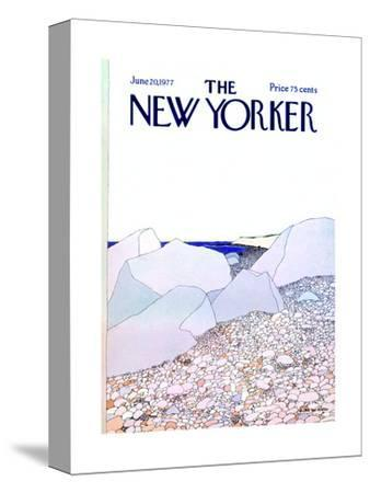 The New Yorker Cover - June 20, 1977