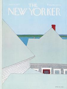 The New Yorker Cover - June 23, 1975 by Gretchen Dow Simpson