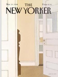 The New Yorker Cover - March 19, 1984 by Gretchen Dow Simpson