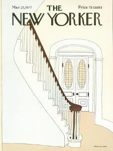 The New Yorker Cover - March 21, 1977 by Gretchen Dow Simpson