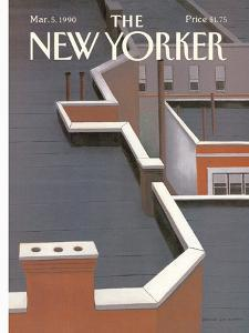 The New Yorker Cover - March 5, 1990 by Gretchen Dow Simpson