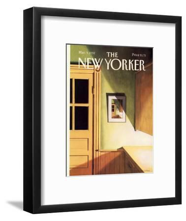 The New Yorker Cover - March 9, 1992