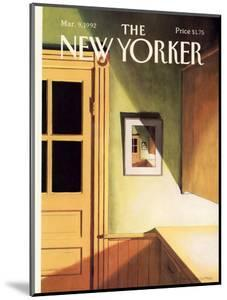 The New Yorker Cover - March 9, 1992 by Gretchen Dow Simpson
