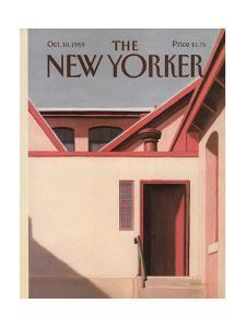 The New Yorker Cover - October 10, 1988 by Gretchen Dow Simpson