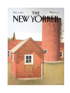 The New Yorker Cover - October 5, 1987 by Gretchen Dow Simpson