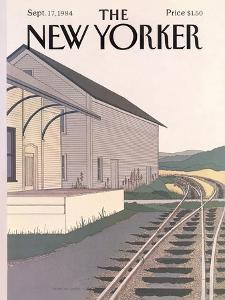 The New Yorker Cover - September 17, 1984 by Gretchen Dow Simpson