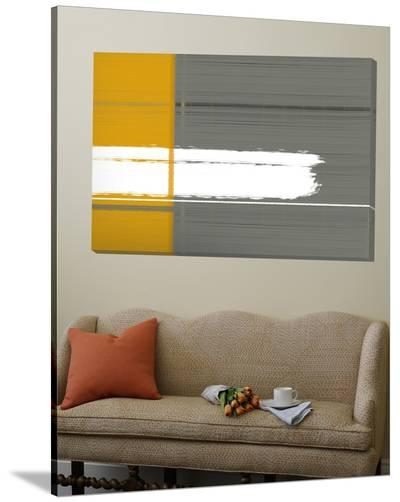 Grey and Yellow-NaxArt-Loft Art