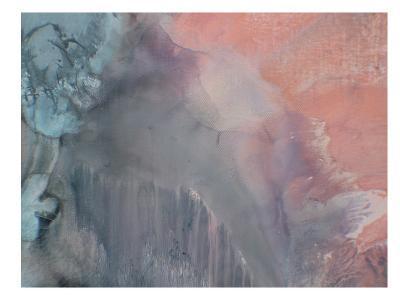Grey Blur-Deb McNaughton-Art Print