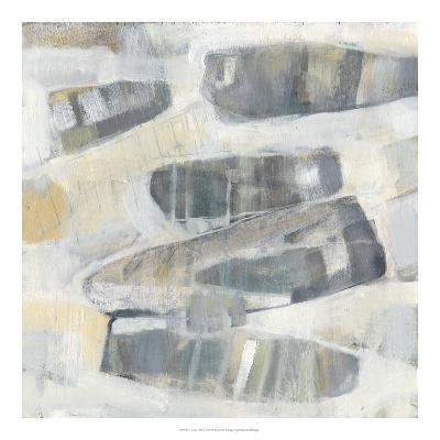 Grey Orbs I-Jennifer Goldberger-Art Print