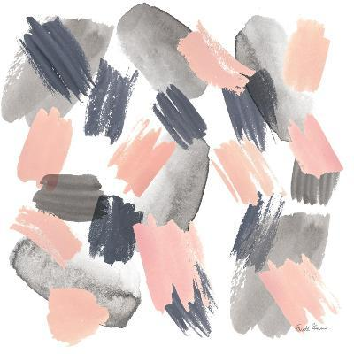 Grey Pink Mist II-Farida Zaman-Art Print
