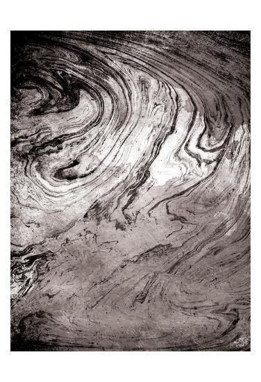 Grey Sea Marble-Jace Grey-Art Print