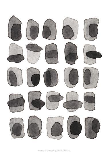 Grey Slate II-Nikki Galapon-Art Print