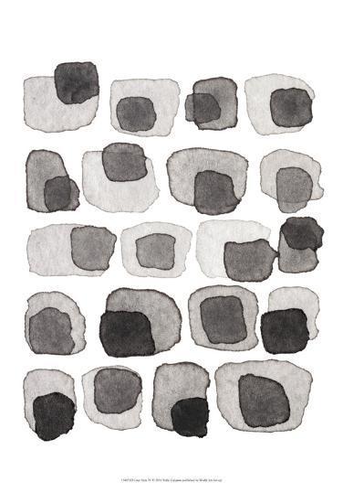 Grey Slate IV-Nikki Galapon-Art Print