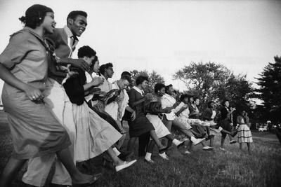 African American Students Dancing Together