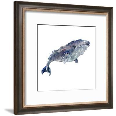 Grey Whale-Suren Nersisyan-Framed Art Print