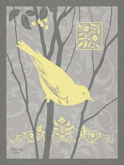 Grey & Yellow Bird II-Gwendolyn Babbitt-Art Print