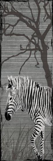 Grey Zebra-OnRei-Art Print