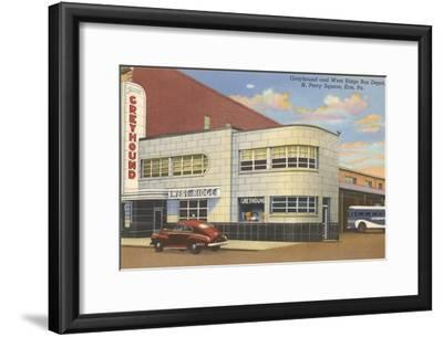 Greyhound Bus Terminal, Erie