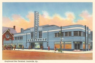 Greyhound Bus Terminal, Louisville