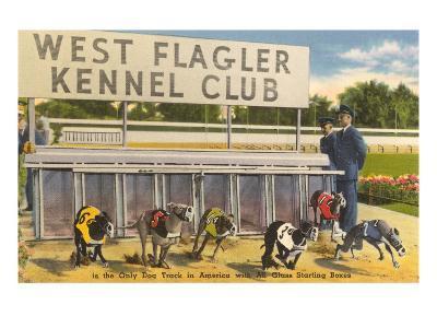 Greyhound Track, Flagler, Florida--Art Print
