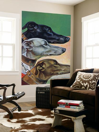 """""""Greyhounds,"""" March 29, 1941-Paul Bransom-Giant Art Print"""