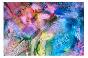 Art Abstract Bright Rainbow Oil Pattern Background, Selective Focus by Grezova Olga