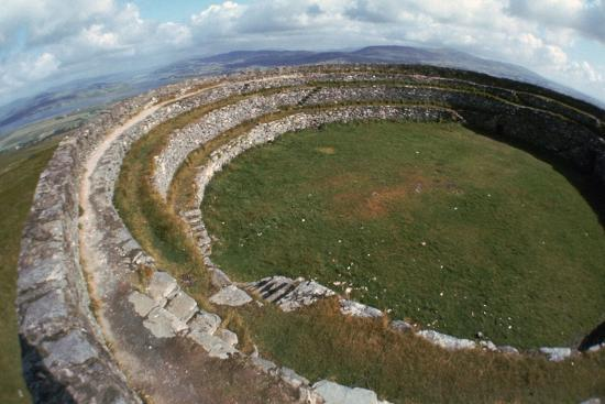 Grianan of Aileach Hillfort, 6th-7th century. Artist: Unknown-Unknown-Photographic Print