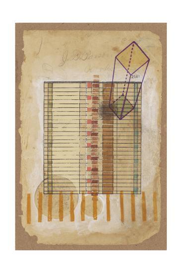 Grid and Parallelogram-Nikki Galapon-Art Print