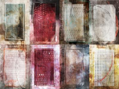 Grid Block-Ken Roko-Art Print
