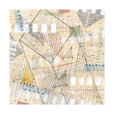 Grid Lines II-Nikki Galapon-Premium Giclee Print