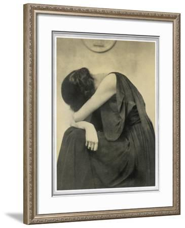 Grief--Framed Photographic Print