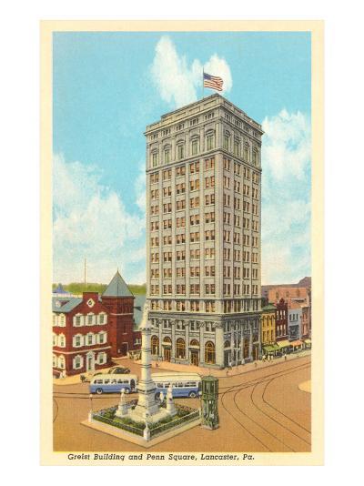 Griest Building, Lancaster, Pennsylvania--Art Print