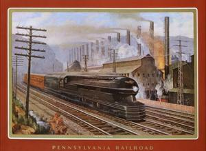 Pennsylvania Railroad, the Steel King by Grif Teller