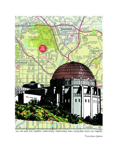 Griffith Observatory--Art Print