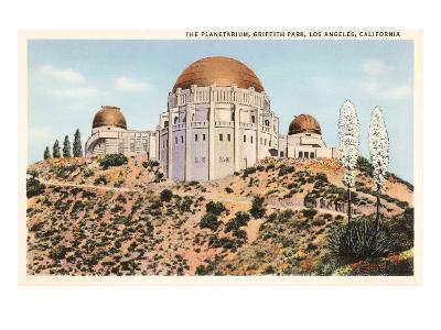 Griffith Park Planetarium, Los Angeles, California--Art Print