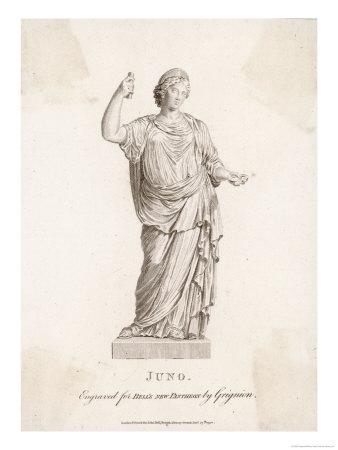 The Wife of Zeus, Also His Sister Protectress of Marriage and Women