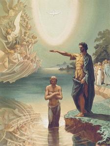 The Baptism of Christ by Grigori Grigorievich Gagarin