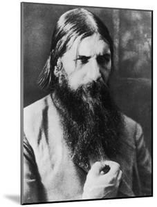 Grigori Rasputin Russian Mystic and Court Favourite in 1908
